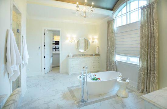 Master Bath,  Interiors: Lori Paranjape, Redo Home & Design