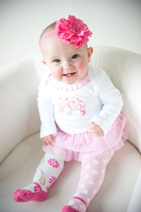 pink baby's outfit  //  jenna rose photography