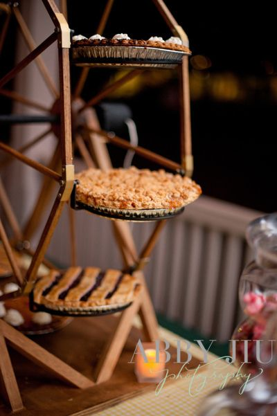 A pie Ferris Wheel fits the Carnival theme perfectly!