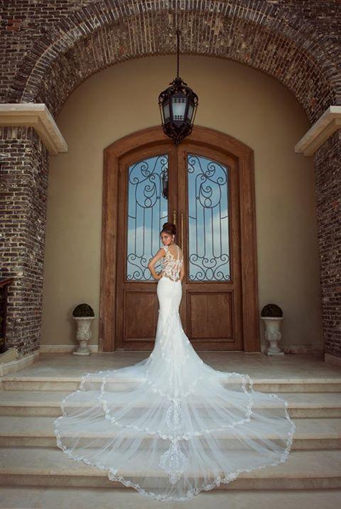 wedding dress #train