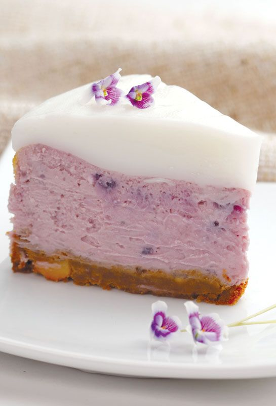 Purple Sweet Potato Cheesecake/ have to get rid of the cream cheese and tweak the recipe for gluten free,soy free,dairy free etc- but has potential..