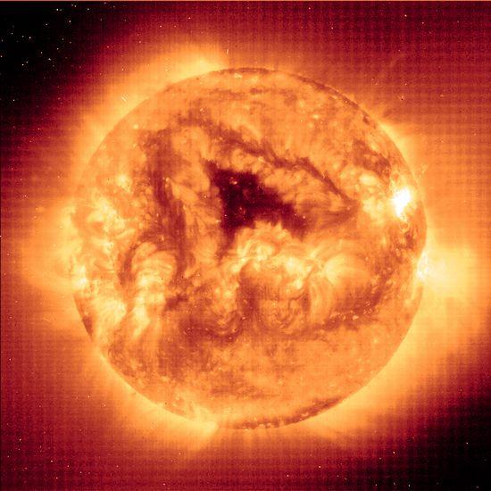 NASA image of the sun. Gotta be honest, this kinda scares me.