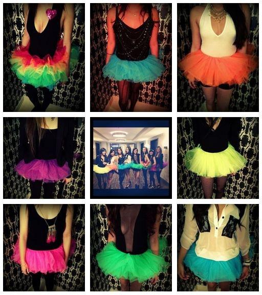 super cute bachelorette party dress-up idea!