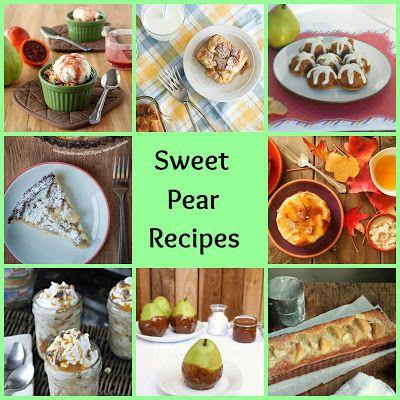 Pear Palooza! 30+ Sweet and Savory Pear Recipes