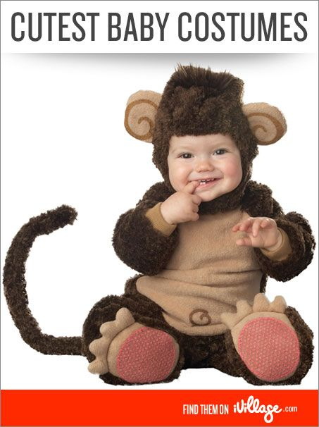 The Cutest Baby Costumes: We dare you not to smile! #babies #halloween #costumes