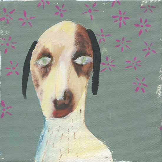 Dog Dream. $60.00, via Etsy.