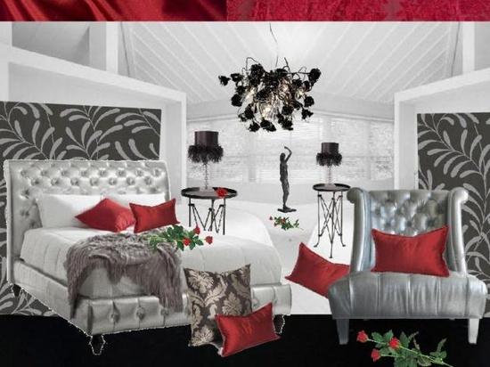 Romantic Valentine Day Bedroom