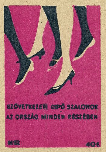 hungarian matchbox label, via Flickr.
