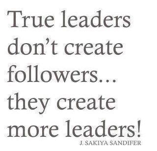 True leaders...