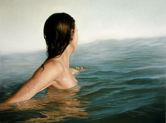 """Painting by Artist: Arturo Samaniego; Oil, 2012, Painting """"""""Impending"""""""""""