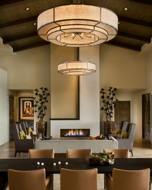 modern spanish house dining room living room - Modern Homes Interior Design and Decorating Ideas on Decodir