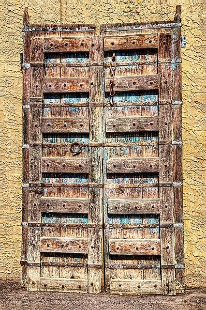 Antique doors from India.