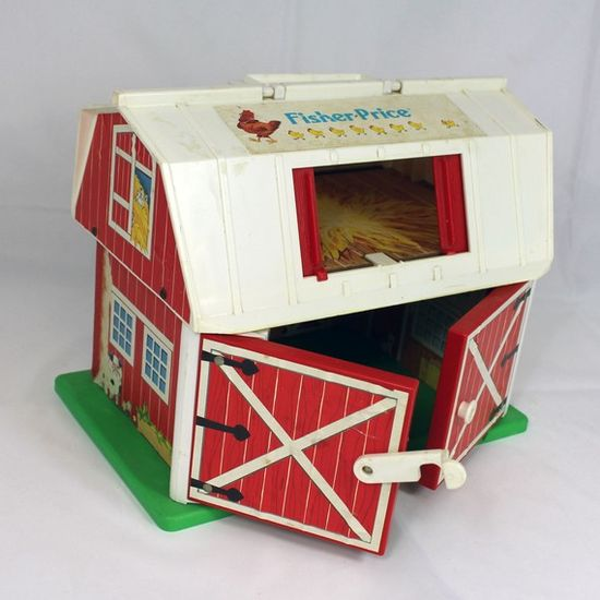 Fisher Price barn- the doors mooed when opened!