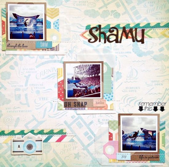 Shamu - Scrapbook.com