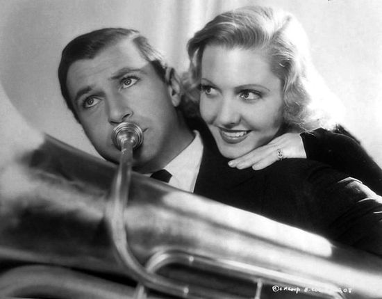Gary Cooper and Jean Arthur in 'Mr. Deeds Goes to Town'
