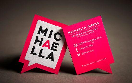Public Letterpress business cards