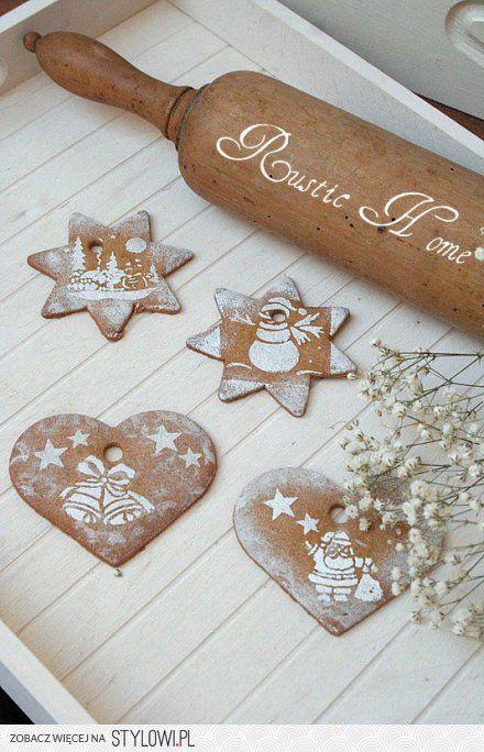 pretty hand made ornaments