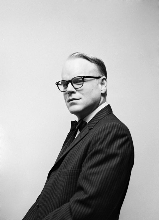 Phillip Seymour Hoffman as Truman Capote