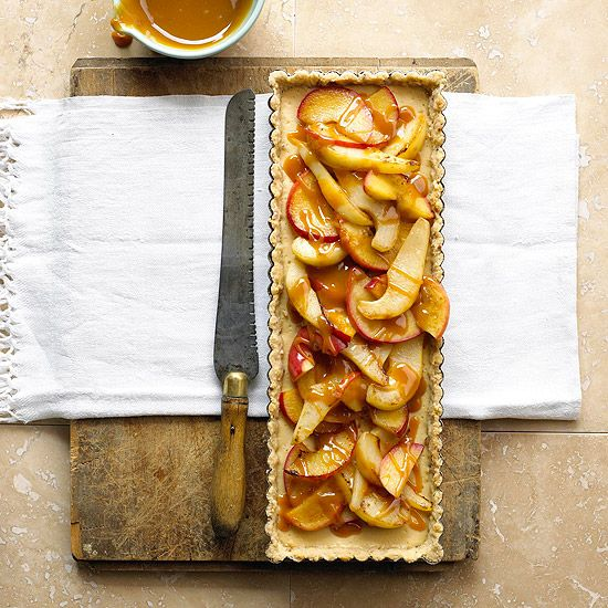 Apple-Pear Tart from @Gayle Robertson Roberts Merry Homes and Gardens