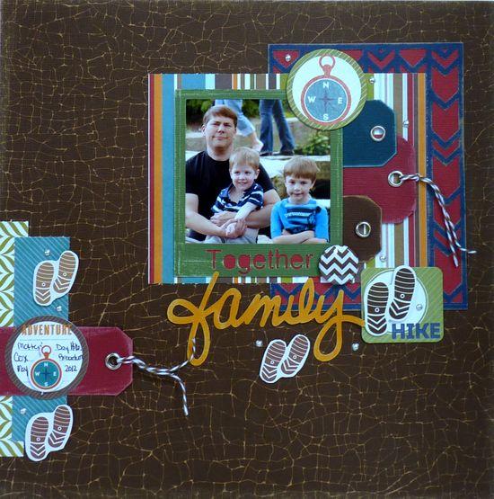 Family Hike **IMAGAINISCE AND CORE'DINATIONS** - Scrapbook.com