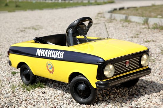 vintage soviet pedal car