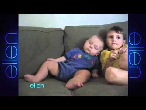 Funny baby videos from the Ellen show. so funny