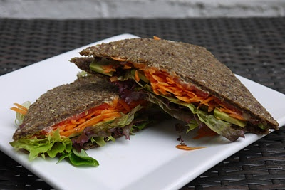 Raw bread / sandwich recipe