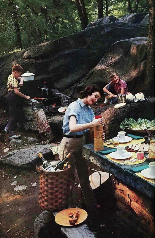 1950s picnic