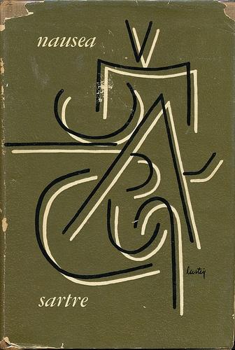 Nausea cover by Alvin Lustig