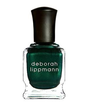 Deborah Lippmann Nail Polish in Laughin' to the Bank: With emerald being the color of the year, go à la mode by painting your nails in that tone.