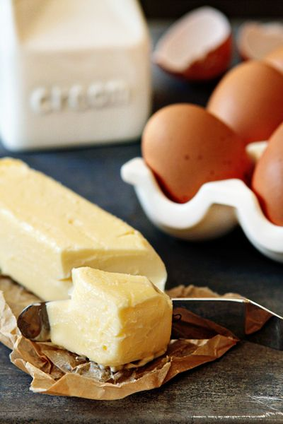 How to bring butter and eggs to room temperature