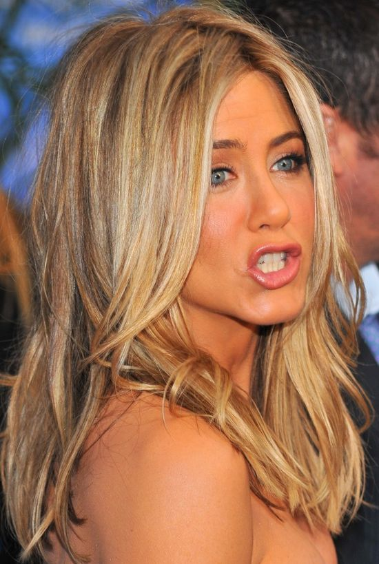 Jennifer Aniston love her and her hair