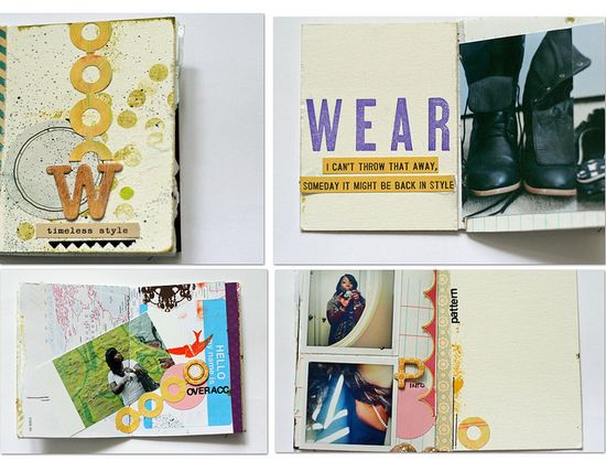 Vee's collection of  mini books on flickr, impressive.
