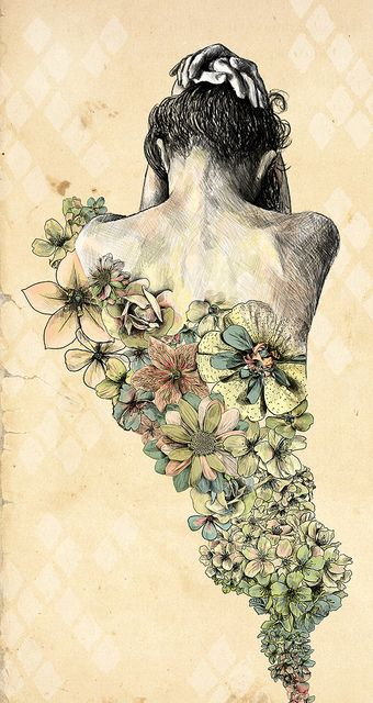 flora adorned  - Heartbeat - by Gabriella Barouch
