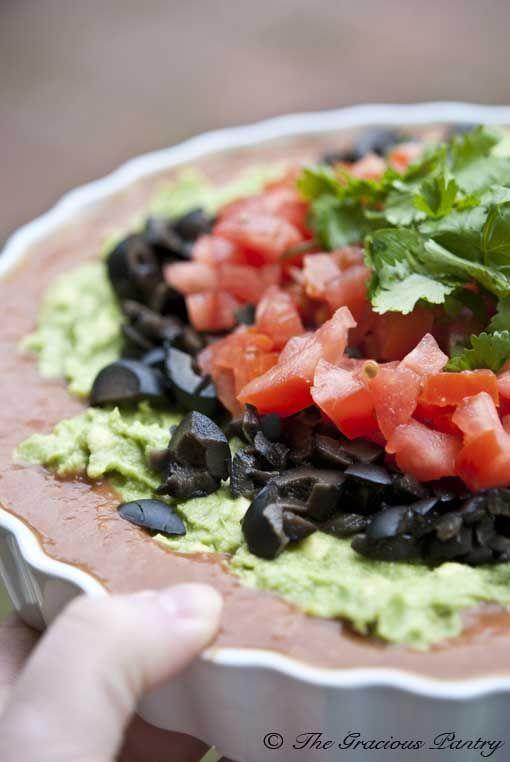 Clean Eating TexMex Dip From www.TheGraciousPa...
