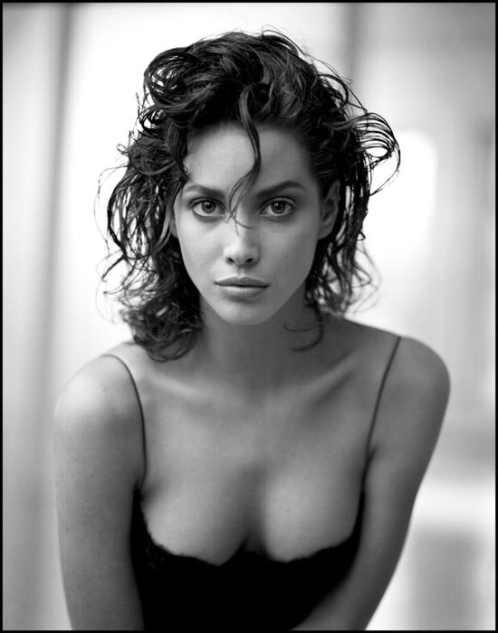 Christy Turlington, photographed by Arthur Elgort for Interview Magazine in 1987.