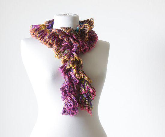 Women Crochet Scarf