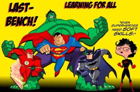 Even Superheroes need #self personality #softskills #soft skills