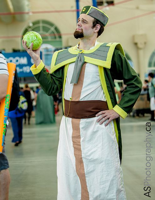 Cabbage Man from Legend of Korra / Avatar The Last Air Bender