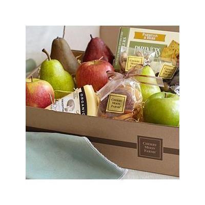 Simply Fresh Fruit, Cheese & Snacks With Happy Birthday Ribbon