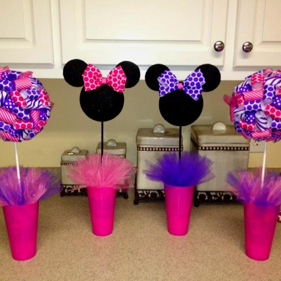 *minnie party centerpieces