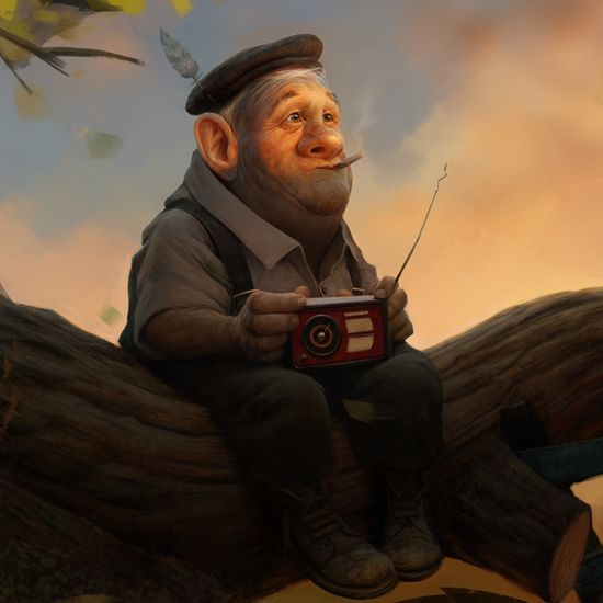 Memories of youth by Max Kostenko, via Behance