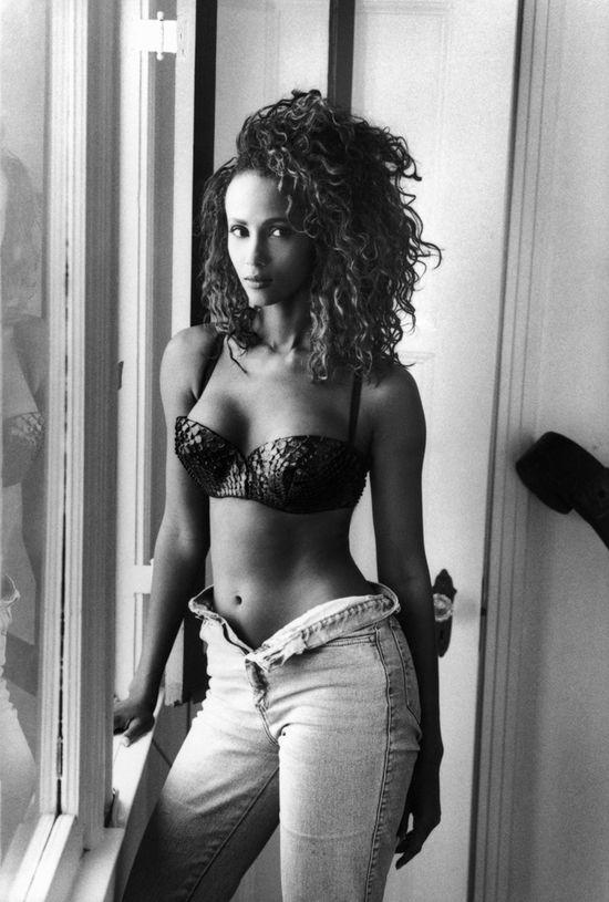 Iman, Somali fashion model