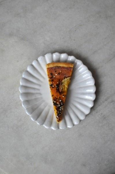 // pumpkin tart