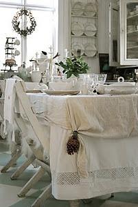 Shabby Dining room..