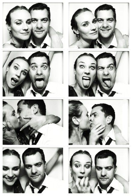 diane kruger & joshua jackson. such an adorable couple