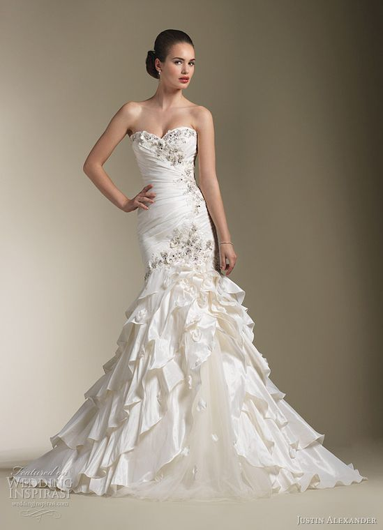 Justin Alexander Spring 2012 bridal collection
