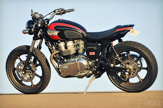 Custom Triumph motorcycles from Mule