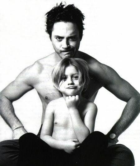 Robert Downey Jr. & Son...seriously adorable