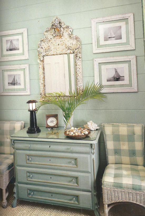 Classic Style: Beach House in Florida--soft and pretty styling for any cottage anywhere!